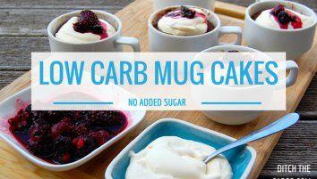 Low Carb Mug Cakes