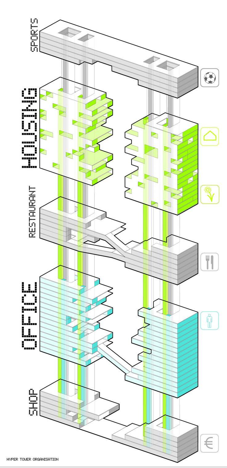 398 best diagram images on pinterest architecture for Conceptual architecture diagram