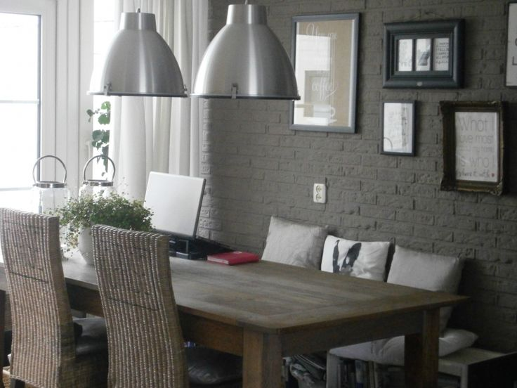 De 22 beste afbeeldingen over interieur en woon idee n op pinterest keukentafels deuren en grijs - Idee decoratie ...