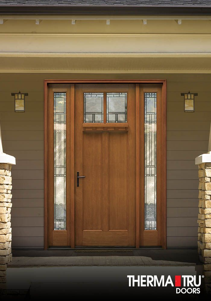 18 best classic craft mahogany collection images on for Front door with three windows