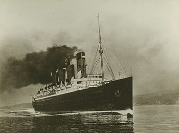 And the RMS Mauretania, which Turner piloted to New York and back in December 1910 in just 14 days.