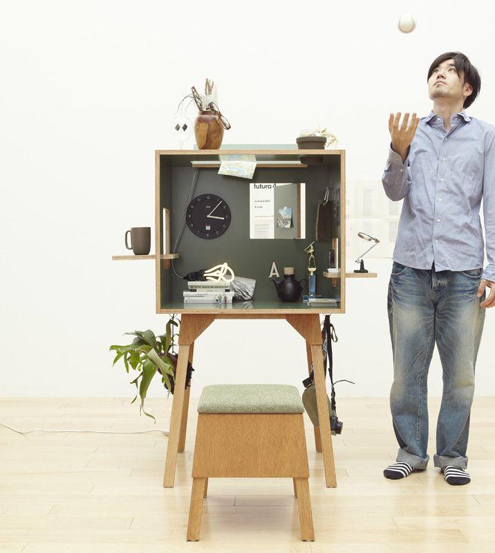 Koloro desk, Ichiro & Torafu Architects