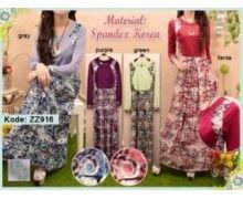 pusat grosir baju busana muslim online murah model trendy terbaru z916
