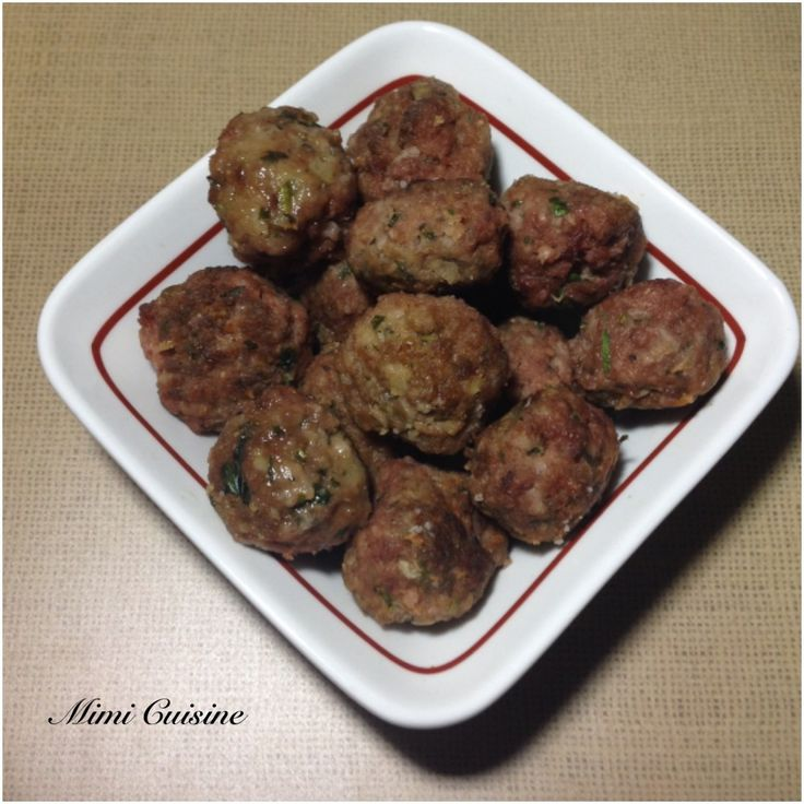Boulettes de bœuf sicilienne Recette Companion