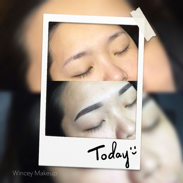 Before & after ✌�� �������� ________________________________________ Korea semi permanent eyebrow & eye.  Professional makeup artist with 5 years experience.  Offer personal services with a full range of �������� •Eyebrow shaping •Semi permanent eyebrow •Semi permanent eyeliner •Professional makeup service  At very affordable prices.  For appointment contact +65 8333 6257.  wechat: wincey_wsm  #koreamakeup #semipermanent #semipermanenteyebrows #semipermanentbrows #semipermanenteyebrow…