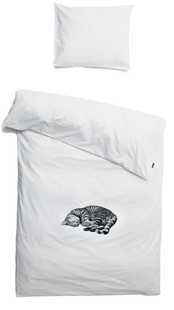 White duvet Ollie Double - Snurk beddengoed - BijzonderMOOI* Dutch design online