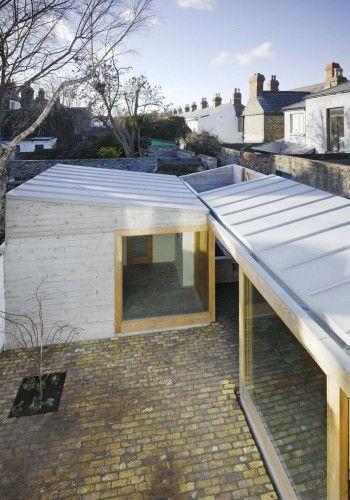 Laneway Wall Garden House, Dublin, Ireland Donaghy & Dimond Architects.