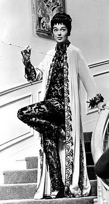 -Rosalind Russell in  Auntie Mame..