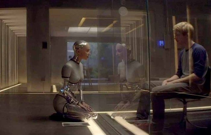 """""""Ex Machina"""" (2015) (Director: Alex Garland) My Rating: 4 out of 5 stars"""