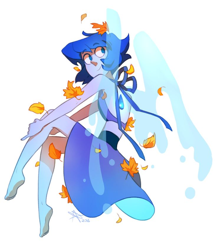 I am Lapis Lazuli. I am from Homeworld, and I am here on Earth now. I have a long back story that I don't want to tell right now, but if you ask me, I'll tell you if I trust you enough. I live in a barn with Peridot. I didn't like her at first, but now I like her as a friend. -blush-