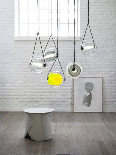 Capsule By Brokis, Is A Pendant Designed By Lucie Koldova And Dan Yeffet:  Two Oval Glass Capsules Intersect In A Such Harmonious Gesture Of  Transparency And ... Amazing Pictures