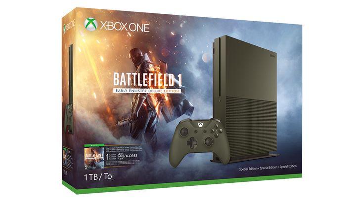 Bonito Xbox One Oferta Incluye Una Edición Especial de 1 TB Y la Consola de Battlefield 1 Por $240