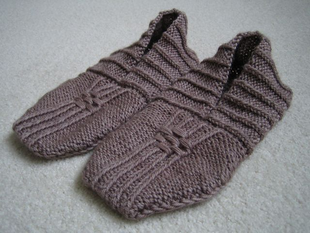 Ravelry: Project Gallery for Japanese House Slippers pattern by Therese Timpson