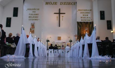 kościół pw. Matki Boskiej Saletyńskiej - Sobieszewo