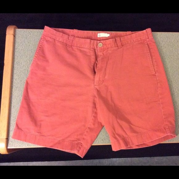Men's red shorts Men's chino shorts. Great for the sunny weather! J. Crew Shorts