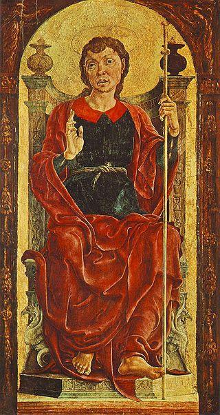 Cosmè tura, St James the Great - San Domenico (Cosmè Tura) -