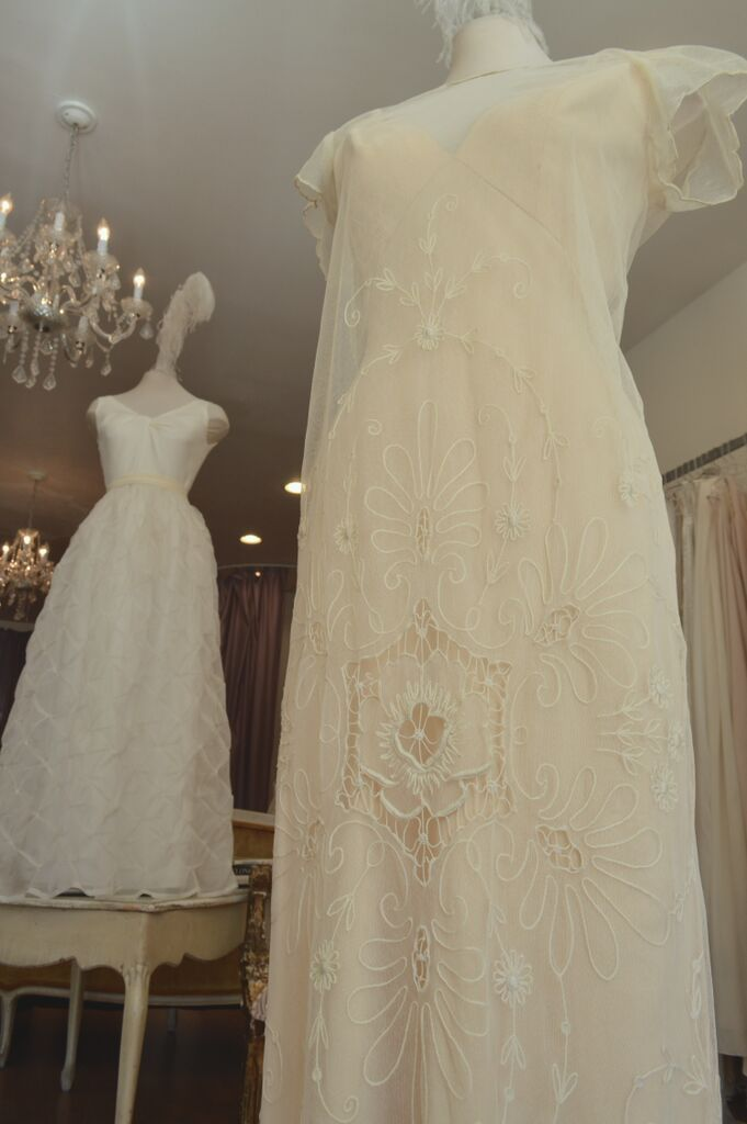 """Vintage lace overdress....... """"Lily"""" ....... LOWON POPE – 117 JEFFERSON AVE, TORONTO, ON – 416-504-8150 – lowonpope@gmail.com"""