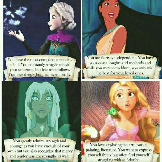 Me in a nutshell. #infj and #disney
