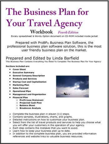 Starting a Travel Agency – Sample Business Plan Template
