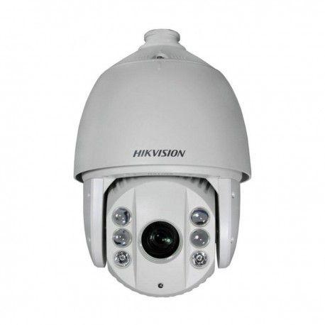"""Профессиональная наружная PTZ камера для системы видеонаблюдения. Технологии: HD-TVI, аналоговая. Матрица: 1/3"""" CMOS IS. Разрешение: 1920x1080 пикс. (HD-TVI), 1000 ТВЛ (аналог). Фокусное расстояние: 4-120 мм (угол обзора - 58°~1,7°). Дальность ИК подсветки: до 120 метров. Пресеты: 256 координат. Зон патрулирования: 8 шт. Управление: BNC, RS-485 (HIKVISION-C, Pelco P/D). Грозозащита: 4000 В."""