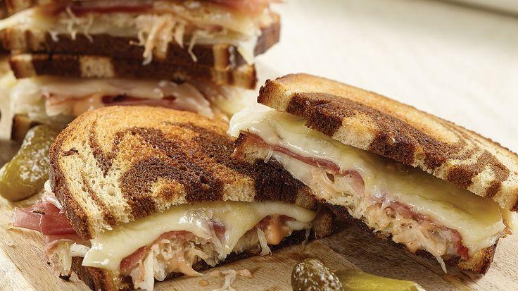 Serrano Ham Reuben Sandwich