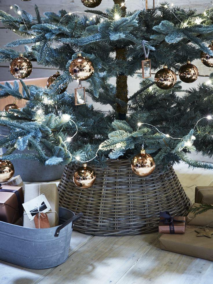 Rattan Christmas Tree Ring - Christmas