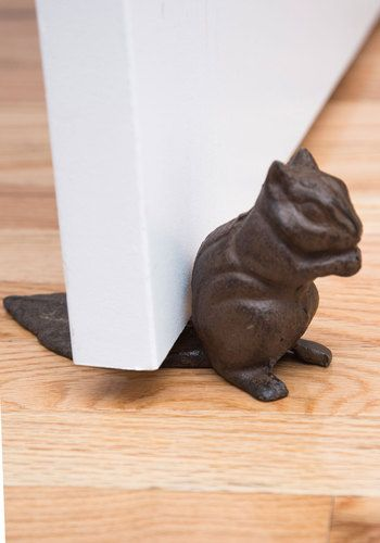 The Squirrel Next Door Stop, $12.99 from #ModCloth - This appeals to my inner Baldwin girl.