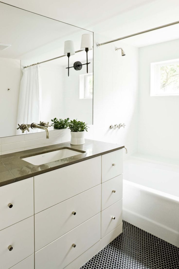 Best 25 mid century ranch ideas on pinterest mid - Tiles for bathroom walls and floors ...