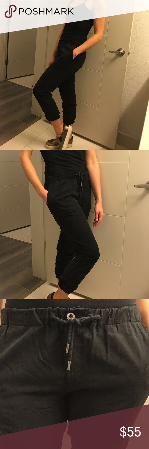 Black pence! Diesel!!! Chic comfy trousers Diesel Pants Trousers