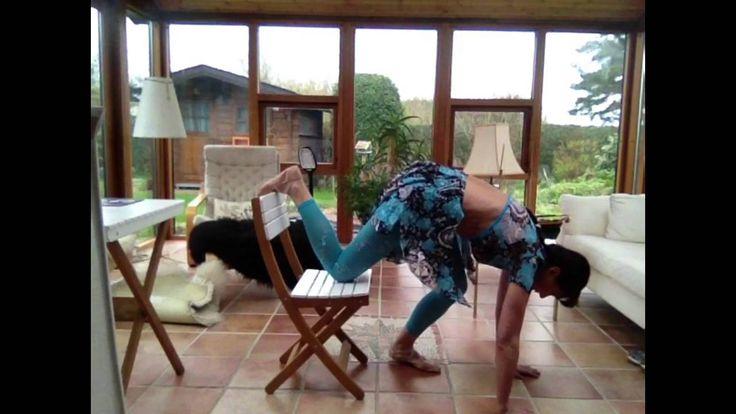 Гимнастика на стуле с Ириной Бйорно