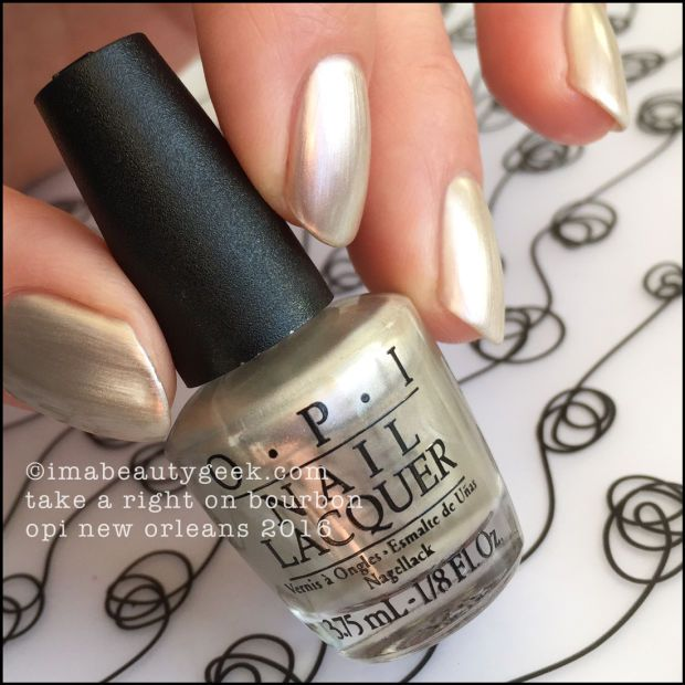 OPI Take a Right on Bourbon – OPI New Orleans 2016