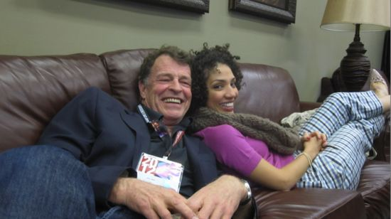 John Noble and Jasika Nicole - Walter and Astrid - Fringe   These two had great dialogues I miss it!