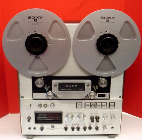 Sony TC-252 Analog Reel to Reel Tape Recorder Speakers <b>Tested</b> ...