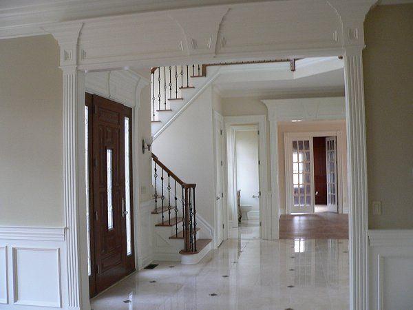 Foyer Trim Design : Best foyer ideas images on pinterest entrance halls