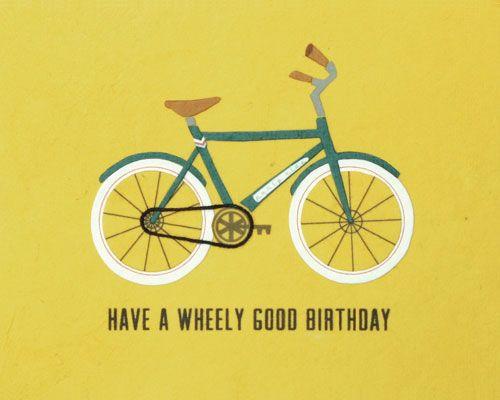 Wheely Good Birthday - GoodPaper.com, fair trade greeting cards