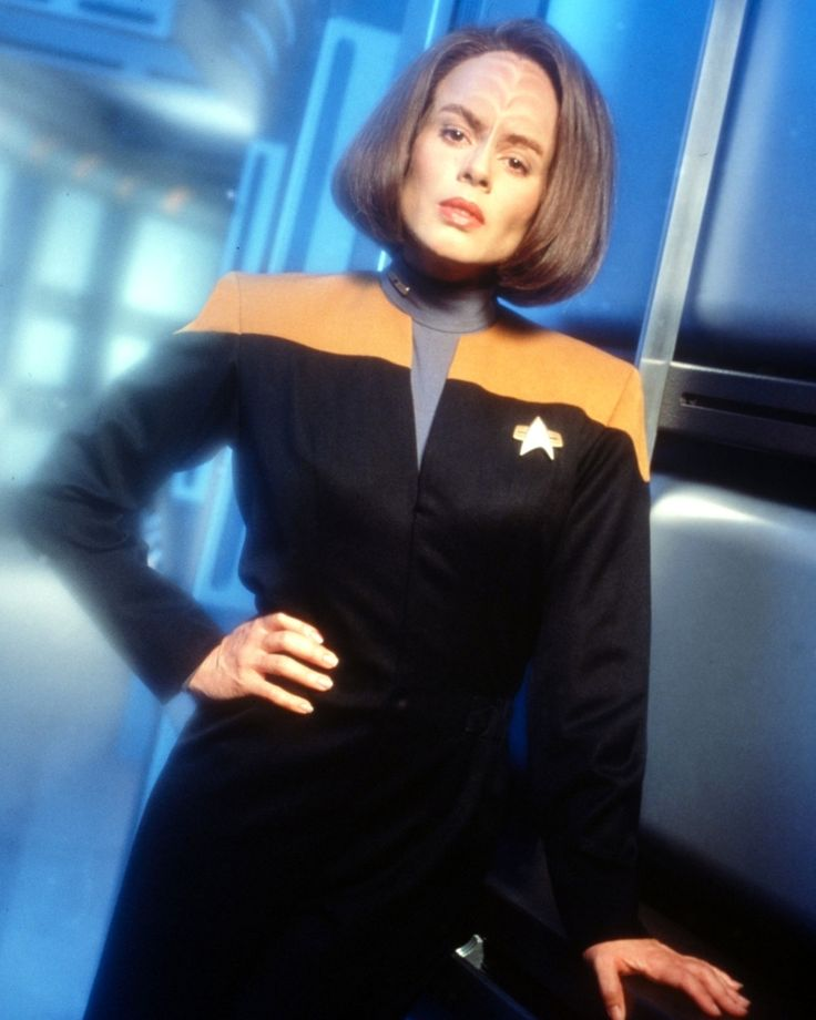 B'Elanna Torres, Chief Engineer of the USS Voyager