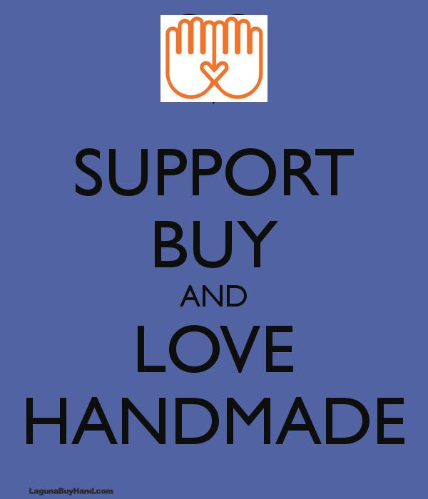 Support BUY and LOVE #handmade
