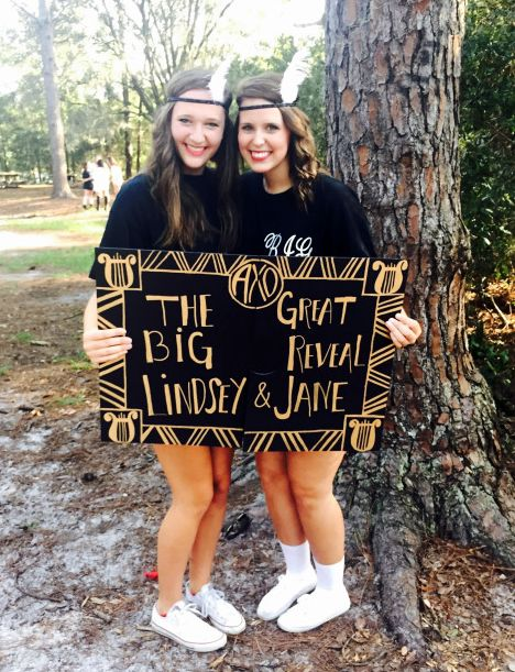 Great Gatsby themed big/little reveal ~ AXO at UNF!submitted by:maryjaneek