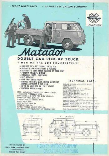 1958-Tempo-Matador-Double-Cab-Pickup-Truck-Brochure-Austin-ws2079-LYX3EE