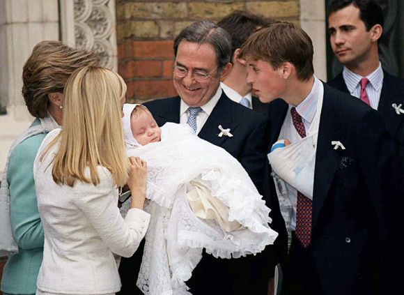 Prince Louis' christening: a look back at other royal ...