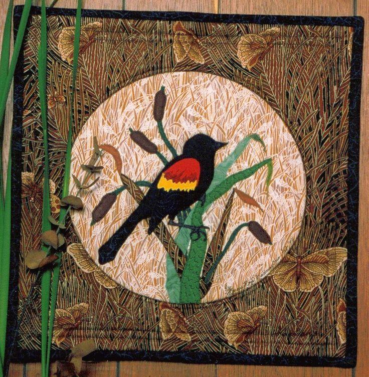 Red Winged Blackbird applique