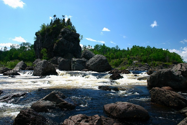 Exploits River Newfoundland. Home, sweet, home.