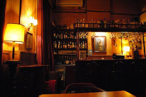 Schilings in Barcelona, shabby chic bar
