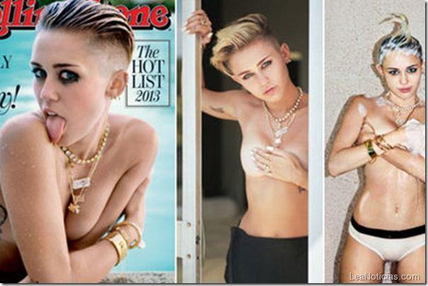 ¡Otro topless de Miley Cyrus! (Foto) lo lee primero en LeaNoticias.com