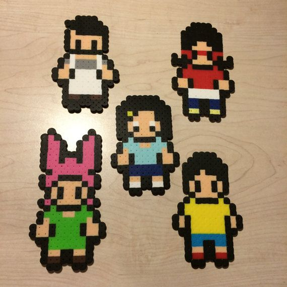Hey  I found this really awesome Etsy listing at https   www etsy com listing 243599305 bobs burgers inspired perler bead