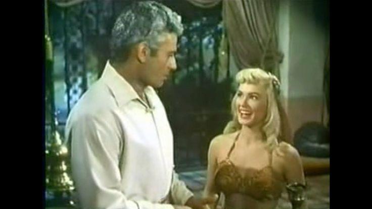"""""""YANKEE PASHA"""" (1954) starring Jeff Chandler, Mamie Van Doren and Rhonda Fleming"""