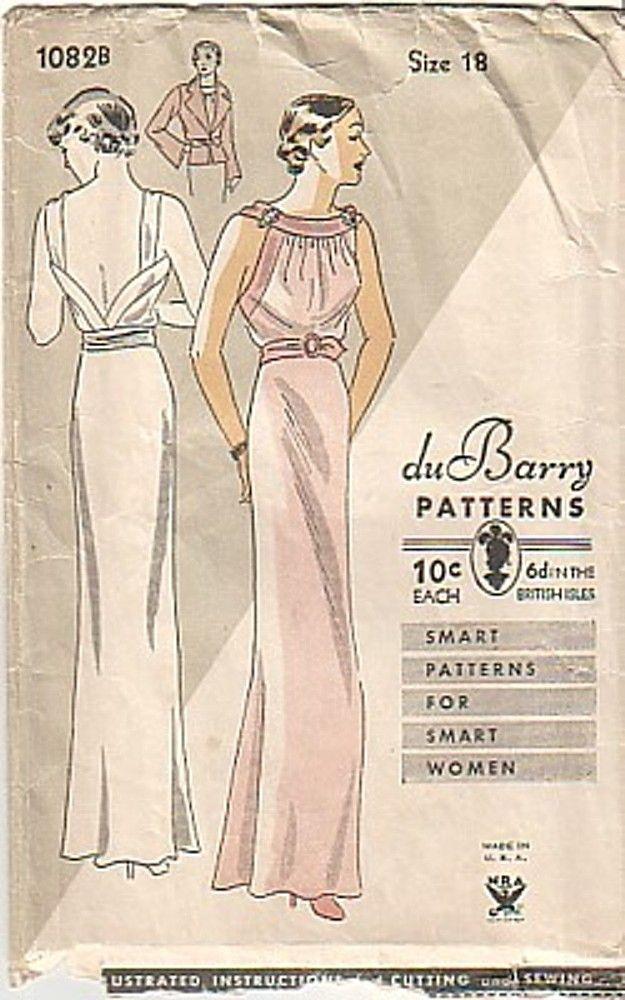1930s Dubarry 1082