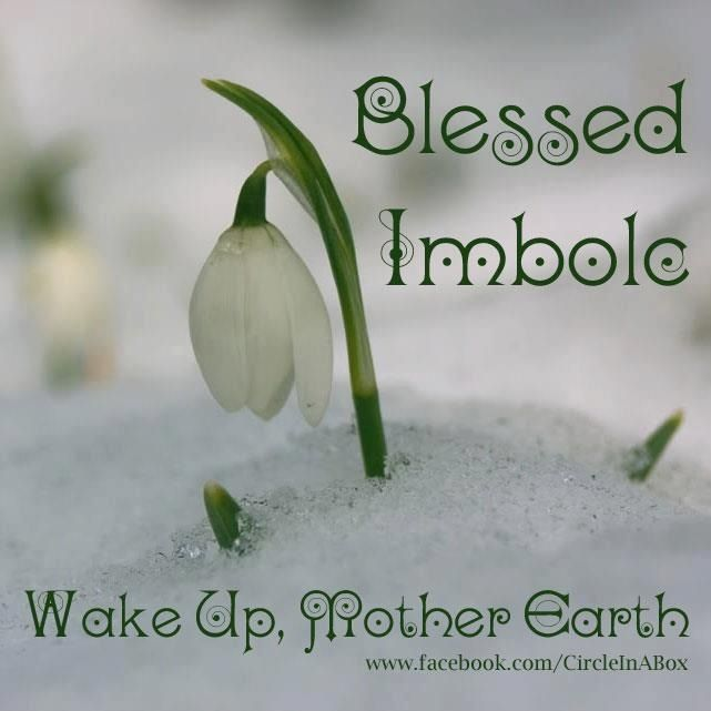 Blessed Imbolc!!!!!! May spring come soon!