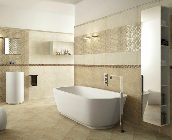 Beaucoup d 39 id es en photos pour une salle de bain beige - Faience salle de bain chocolat beige ...
