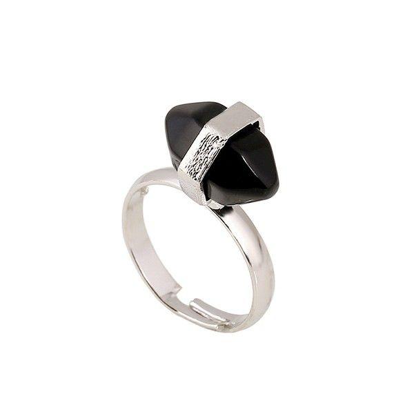 """Gemstone ring """"Black Onyx"""""""